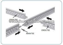 Decorative Metal Ceiling Joist T Bar Poplular System T-24