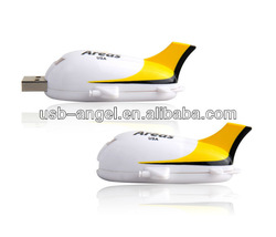 airplane usb flash drive/plastic usb/3D usb