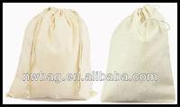 2013 Wholesale Cotton Drawstring Shoe Pouch Coton