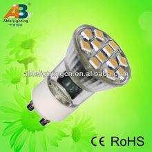 led 2w diameter 35mm high 50mm GU10 spotlight with ce&rohs