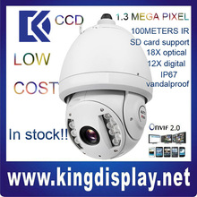 cheapest dahua SD6980-HN SONY CCD ir 1.3MP -40 degree use 100 meter ONVIF2.0 good night video