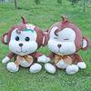 2013 hot sale plush fabric cute monkey