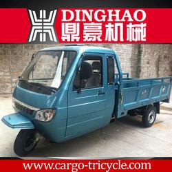 2013 China enclosed 3 wheel motorcycle/ truck car/ Gas Motor pedicab