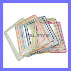 Transparent Bumper Frame TPU Case for ipad mini