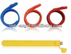 usb stick 500gb/usb flash disk/silicone bracelet usb flash drive