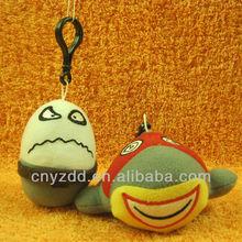 Custom Plush Keychain Monster / Promotional Keychain