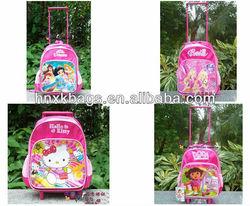wholesale kid trolley bag