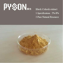 Triterpenoid Saponins 2.5% 8%by Black Cohosh Extract