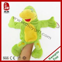 Plush Dinosaur hand puppet