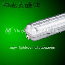 T8 waterproof fluorescent fixture IP65