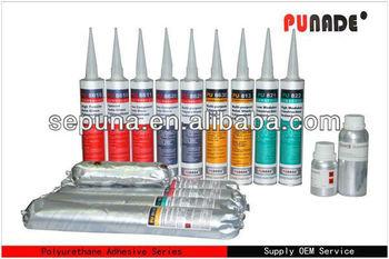 Polyurethane glue for ceramic in construction