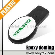 8GB Custom Logo Epoxy doming USB Pen