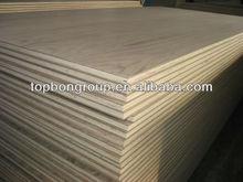 best price 4-20mm Burma teak plywood
