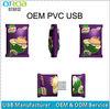 Offer promotion gift OEM logo PVC USB 2GB 4GB 8GB