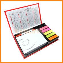 Memo Pad Box Photo Frame Memo Book With Pen Clip