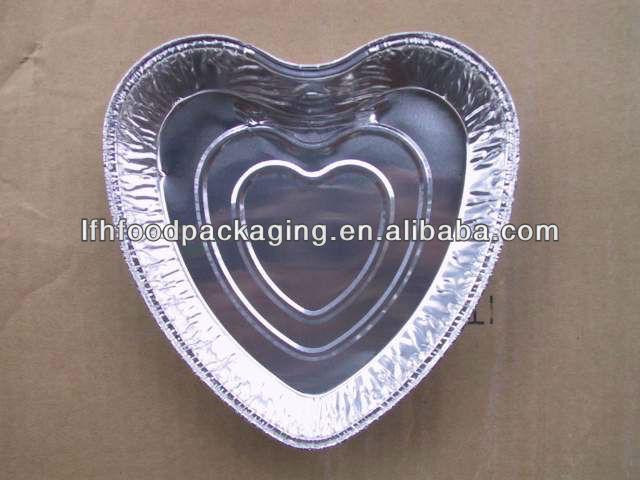 Aluminium foil container for food