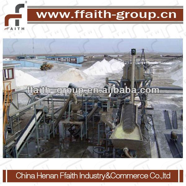 Salt refinery equipment
