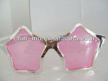 star shaped fashion shining party sunglasses