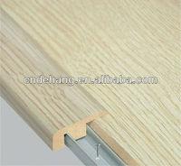 Wooden Laminate Floor Edging Strips-F type end cap