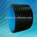 polietileno de alta densidad de doble pared del tubo corrugado de tuberías de hdpe pn10