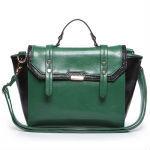 Stylish Genuine Leather Briefcase Dual-use Bag