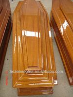 cheap wood coffin