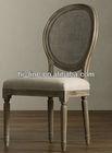 French style oak louis chair