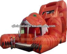 big slide inflatable/tiger slide inflatable/tiger design inflatable slide/Hot sale inflatable slide