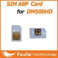 Original sim a8p para dreambox dm 500hd dvb-s receptor de satélite de venda quente do sim a8p