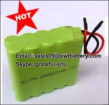 800mah AAA 12v ni-mh battery pack