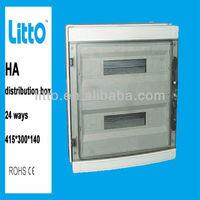 main indusrty low voltage distribution boards 24 ways 415*300*140
