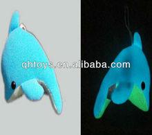 glowing dolphin plush toy dolphin glow in the dark plush toy
