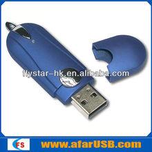 OEM USB Stick Plastic USB/Customer Logo Flash Drive 4GB
