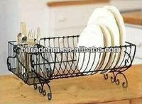 Household New Design Dinner Metal Plate Rack