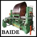 3 folha rolos de dobra do rolo da máquina, cone do rolo máquina de dobra
