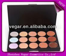 15 Color Concealer Palette natural & beautified cream concealer foundation