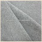 Woven wool polyamide fabric velour