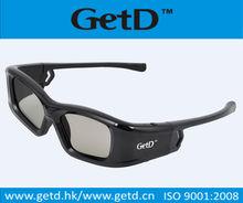 Universal 3D Active glasses for Sony Panasonic Toshiba Sharp ,IR+RF based