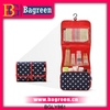 hanging multifunction foldable toilet cosmetic bag for travel