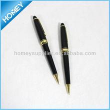 Plastic pen and pencil set