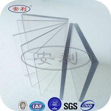 anti impact anti fog polycarbonate sheet clear