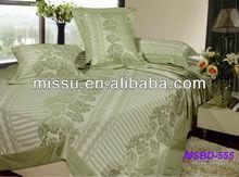 100% bamboo fiber luxury bed linen / bedsheet / bed cover