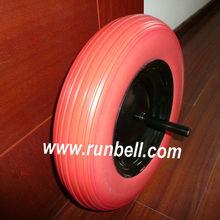 Wheelbarrow PU Foam Solid Wheel