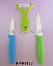 best ceramic color kitchen knife set