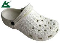 White Mens Rubber Eva Garden Shoes
