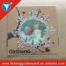fashion design metal snowflake ornaments for xmas