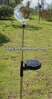 Solar-Powered LED Flower Stake Light Moon Solar Garden Light ISKY-000250