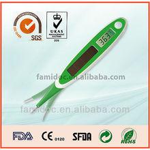 handheld green solar pane digital thermometers