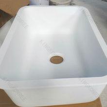 Fabricante de mármore cultivado lavatório, granito pia da cozinha