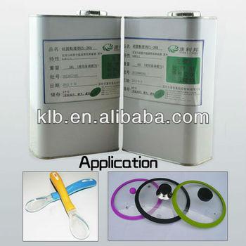 RoHs degree platinum curing silicone adhesive /silicone glue for aquarium